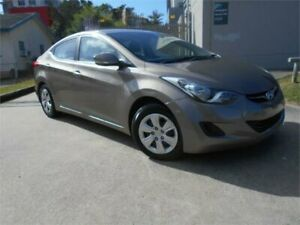 2011 Hyundai Elantra MD Active Bronze Metal;ic 6 Speed Manual Sedan Southport Gold Coast City Preview