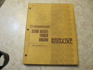 Caterpillar 3208 Diesel Truck Engine Service Manual Regina Regina Area image 1