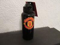 MANCHESTER UNITED FOOTBALL CLUB DRINKS BOTTLE GENUINE LICENSED KIT