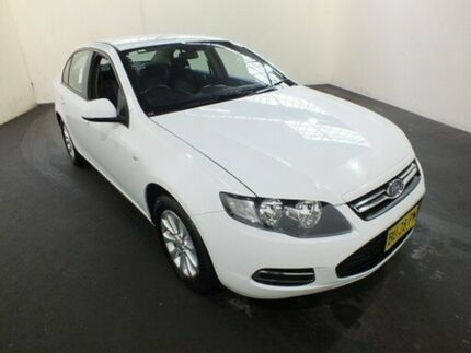 2013 Ford Falcon FG MK2 XT Winter White 6 Speed Auto Seq Sportshift Sedan Clemton Park Canterbury Area Preview