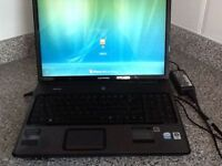 """COMPAQ 17"""" LAPTOP, in excellent condition, works great, $175"""