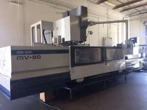 1997 Mori Seiki MV-80C/50B Vertical Machining Center (#3128)