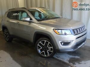 2017 Jeep NEW COMPASS Limited 4x4 / Full Sunroof / Rear Back Up