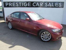 BMW 3 SERIES 3.0 330D SE 4d AUTO 242 BHP (red) 2010