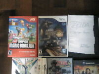 Nintendo 64 - Gamecube - Wii - Wiiu - 3ds- ds Game selling