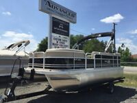 2014 G3 V20C PONTOON BOAT POWERED WITH 50HP. YAMAHA