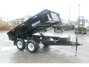 NEW 6x10 DECK-OVER DUMP TRAILER 10,000LB