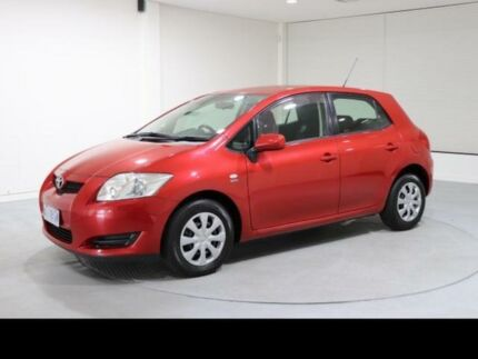 2008 Toyota Corolla ZRE152R Ascent Red 6 Speed Manual Hatchback