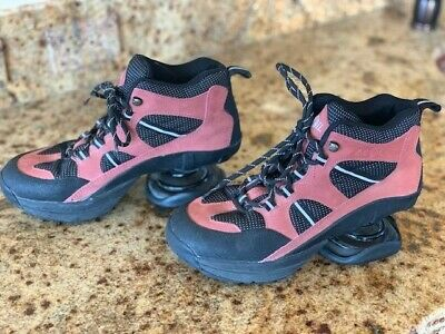 ZCOIL Outback Orthopedic Hiker Coil Shoes High Quality Leather Rust Women Size 8