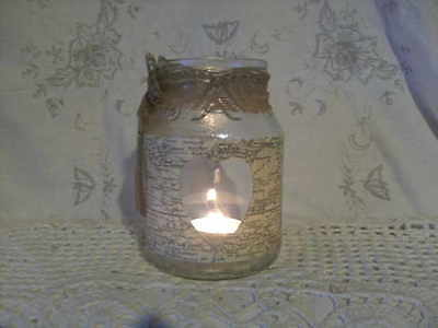 nostalgie,geschenk,home,windlicht,landhaus♥BON VOYAGE♥ (Bon Voyage Dekorationen)