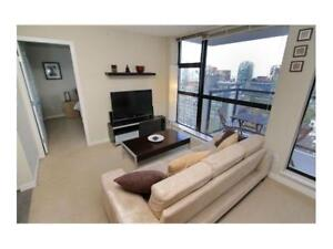 Spacious 2 bedroom 2 bath in Yaletown, available immediately