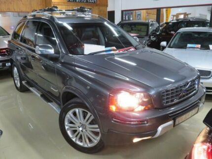 2008 Volvo XC90 MY09 D5 Executive Blue Graphite 6 Speed Automatic Geartronic Wagon