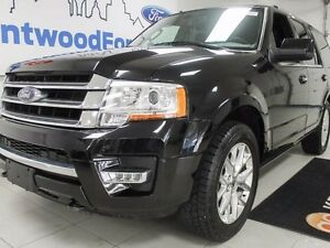 2017 Ford Expedition 8 PASSENGER WITH NAV, SUNROOF AND LEATHER