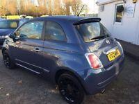 FIAT 500 0.9 TWINAIR PLUS 3d 85 BHP (blue) 2012