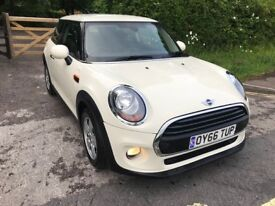 2016 LOVELY MINI HATCH 1.2 ONE (S/S) 3DR Cat C 1 Year Mot Low Mileage 14000 Excellent condition