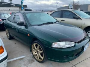 2001 Mitsubishi Lancer CE2 GLi Green 4 Speed Automatic Coupe Fyshwick South Canberra Preview
