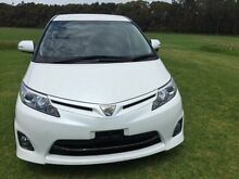 2011 Toyota Estima GSR50W R50 Pearl White 6 Speed Automatic 5 DOORS 7 SEATS PEOPLE MOVER North Wollongong Wollongong Area Preview