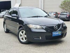 2008 Mazda 3 BK10F2 Neo Black 5 Speed Manual Sedan Mayfield East Newcastle Area Preview