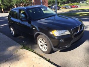 2013 BMW X3 VUS, 4cyl. turbo, Traction intégrale.