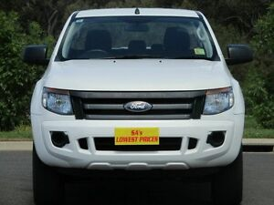 2013 Ford Ranger PX XL Double Cab White 6 Speed Manual Utility Strathalbyn Alexandrina Area Preview