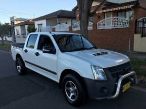 2008 Holden Rodeo RA MY08 LX White 5 Speed Manual Crew Cab Pickup Lidcombe Auburn Area Preview