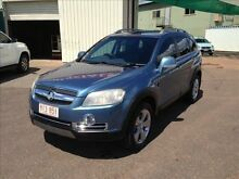 2008 Holden Captiva CG MY08 LX 60th Anniversary (4x4) Blue 5 Speed Automatic Wagon Holtze Litchfield Area Preview