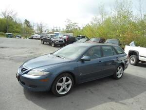 MAZDA 6- WAGON! - JUST INSPECTED !NEW BRAKES! 90 DAYS WARRANTY!
