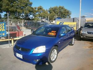 2007 Mitsubishi 380 SPORTS SERIES I #3691 Blue Automatic Sedan Maddington Gosnells Area Preview
