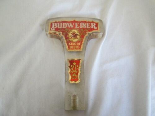 Vintage Budweiser King of Beers Beer Acrylic Tap Handle - T Shape