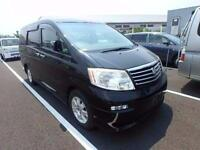 TOYOTA ALPHARD 3.0 MZG 4WD GRADE 4 9/2004 7 LEATHER SEATS IN UK