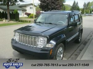 2008 Jeep Liberty 4x4 LOW KM-LIMITED-NAV-LEATHER++++