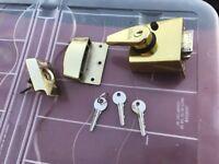 high security front door latch lock