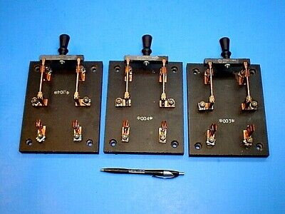 3 General Electric Ge Knife Switchnever Usedtype A 30a 250v