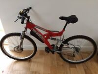 Adults Mountain Bike - Trax Xcelerate - excellent condition