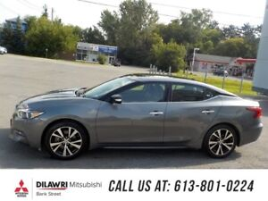 2018 Nissan Maxima SL/NAVIGATION/PANO MOONROOF/LEATHER/REMOTE ST