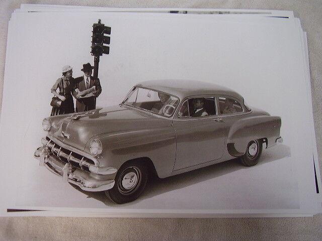 1954 CHEVROLET  150 2 DOOR SEDAN  11 X 17  PHOTO PICTURE