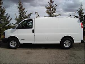 2005 CHEVY EXPRESS CARGO VAN 6.0L 372K FOR ONLY $5,985.