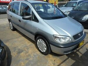 2003 Holden Zafira TT Silver Automatic Wagon Croydon Burwood Area Preview