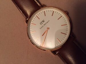 New Daniel Wellington Watch Rose gold and brown leather
