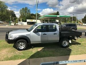2008 Ford Ranger PJ 07 Upgrade XL (4x4) Silver 5 Speed Manual Dual Cab Pick-up Young Young Area Preview