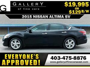 2015 Nissan Altima 2.5 SV $129 BI-WEEKLY APPLY NOW DRIVE NOW