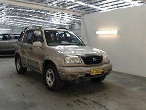 2001 Suzuki Grand Vitara (4x4) (4x4) Gold 4 Speed Automatic Wagon Beresfield Newcastle Area Preview