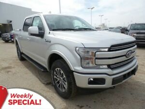 2018 Ford F-150 Lariat 4x4 - Leather, SYNC Connect, Tow Package
