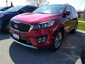 2016 Kia Sorento 3.3L SX Pano Sunroof NAVI Pwr Liftgate LEATHER