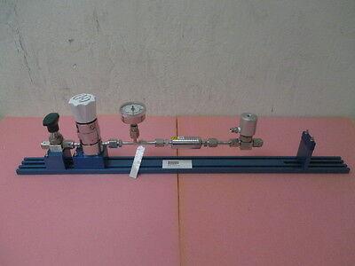 Kinetics Gas Line, Swagelok 6LV-DAVR4-P, 6LV-DAVR4-PX-C, Tescom 74-24P1KR920-067