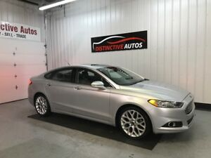 2013 Ford Fusion Titanium ALL WHEEL DRIVE/LEATHER/NAVI/B.CAM