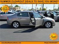 2007 Honda Civic LX AT Sedan, NO PAYMENTS UNTIL 2016