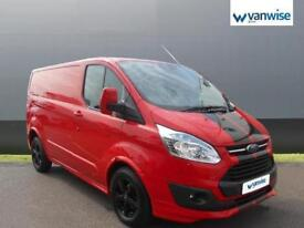 2014 Ford Transit Custom 2.2 TDCi 125ps Low Roof Limited Van Diesel red Manual