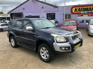 2005 Toyota Landcruiser Prado GRJ120R GXL (4x4) Blue 5 Speed Automatic Wagon North St Marys Penrith Area Preview