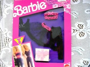 BARBIE DOLL FANCY FRILLS SHEER LACY LINGERIE SETS  NIB 1991